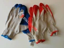 Rękawice typu WAMPIRKI rozmiar L powlekane lateksem