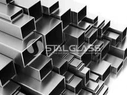 Profil surowy prostokątny 60x40x2.0 mm AISI 304 1 m