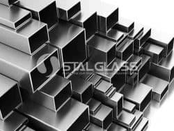 Profil surowy prostokątny 80x40x2.0 mm AISI 304 1 m