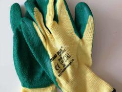 Rękawice powlekane hand-flex latex