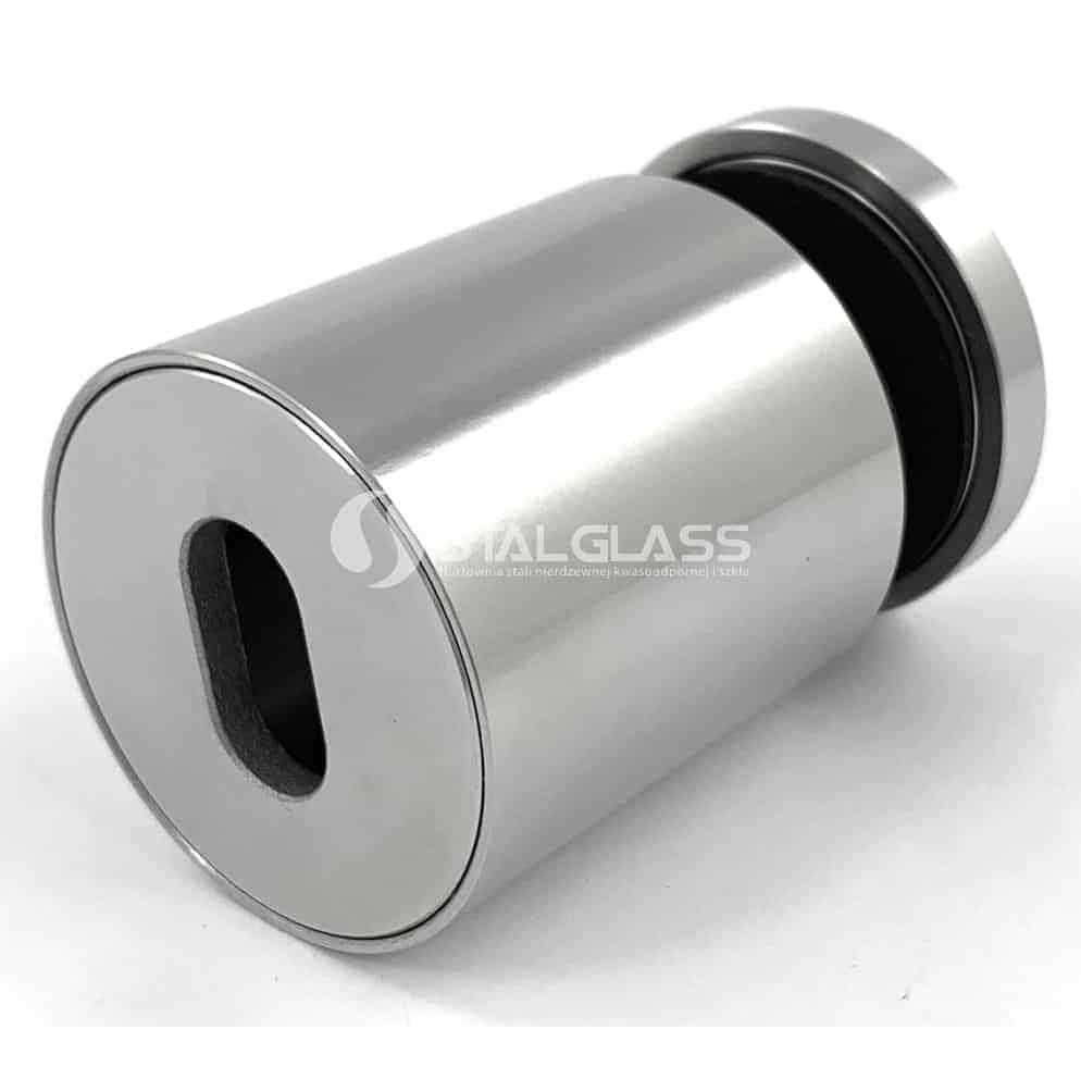 Uchwyt punktowy do  szkła fi 48 mm z regulowanym dystansem