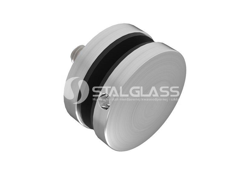Uchwyt punktowy szkła fi50, do powierzchni płaskiej, dystans 20mm – szlif